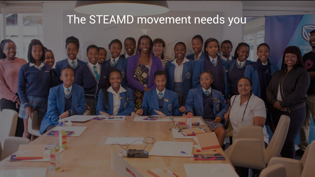 The STEAMD movement needs you