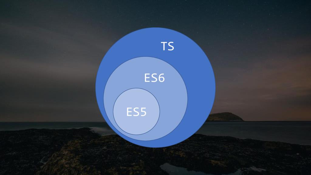 ES5 ES6 TS