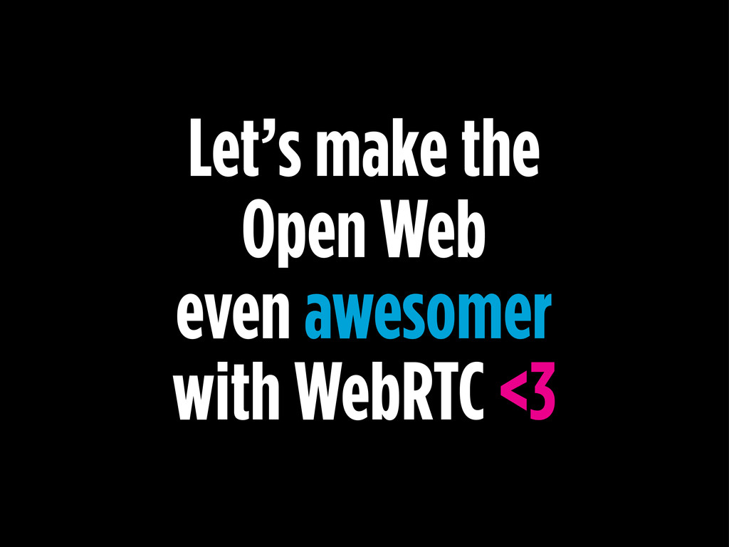 Let's make the Open Web even awesomer with WebR...