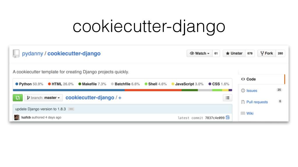 cookiecutter-django