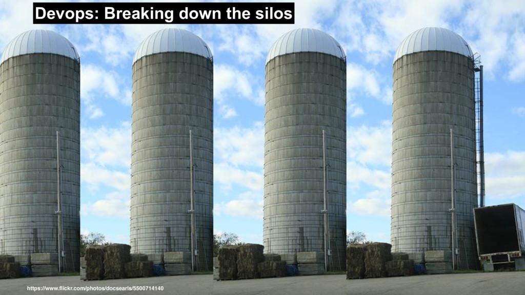 Devops: Breaking down the silos https://www.flic...