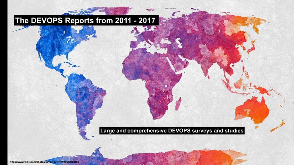 The DEVOPS Reports from 2011 - 2017 Large and c...