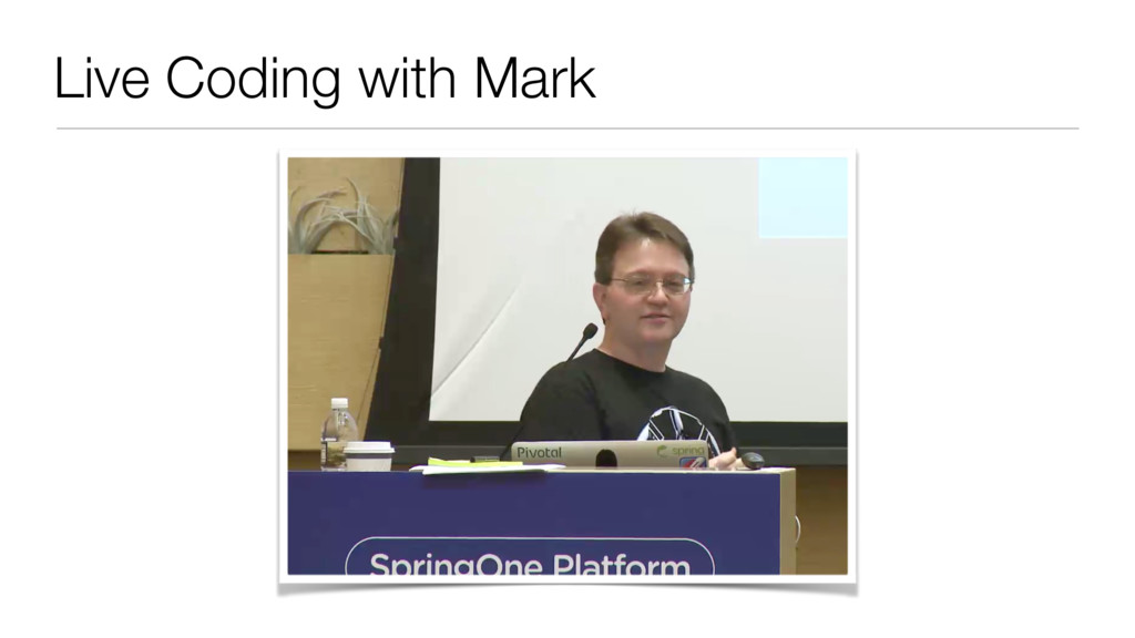 Live Coding with Mark