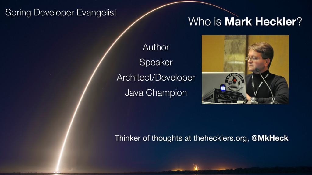 Thinker of thoughts at thehecklers.org, @MkHeck...