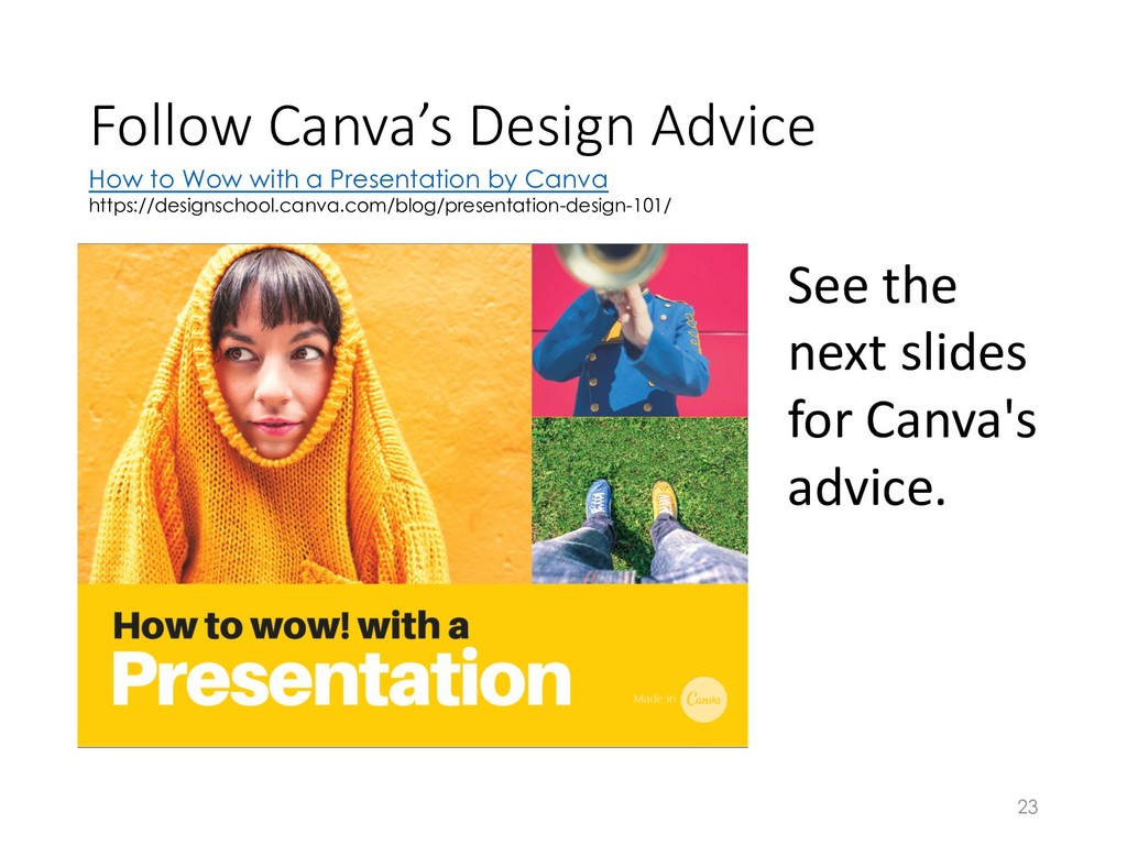 Follow Canva's Design Advice 23 How to Wow with...