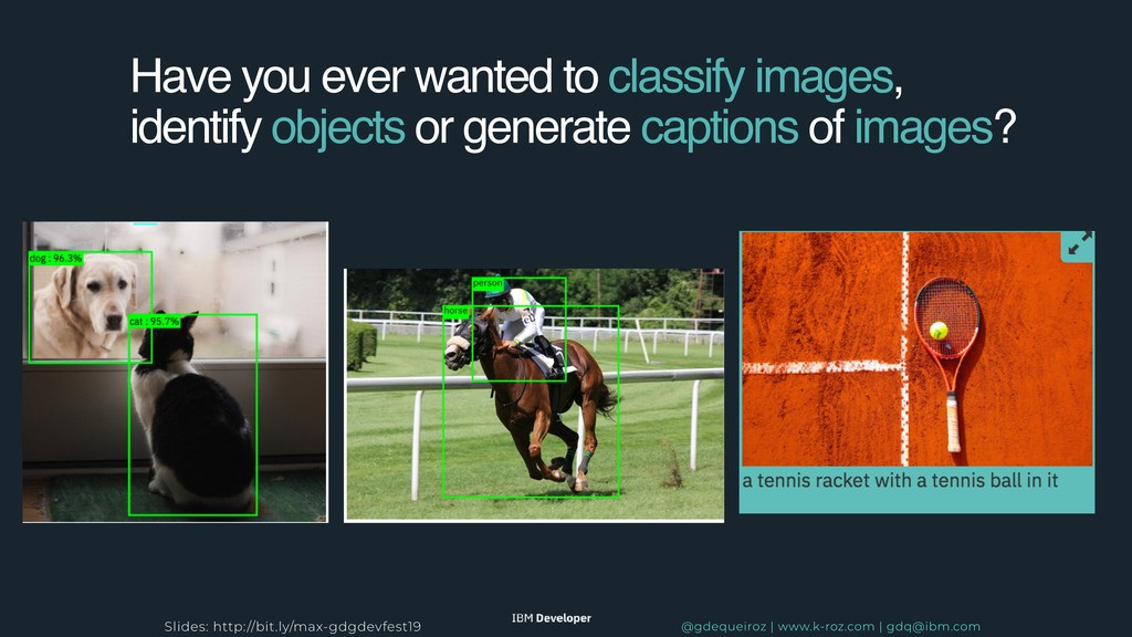 Have you ever wanted to classify images, identi...