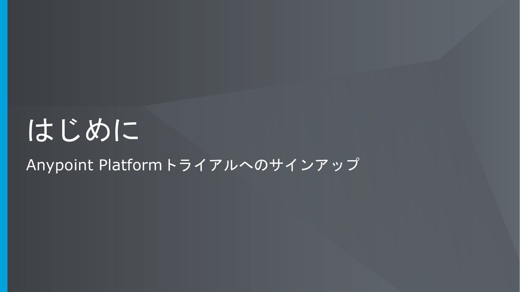 Anypoint Platform