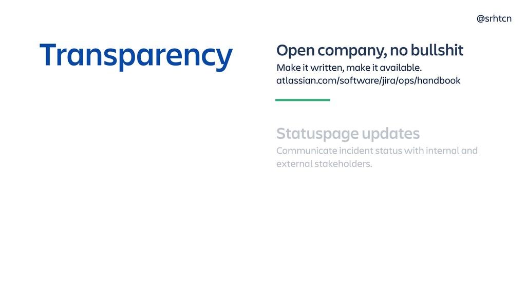 @srhtcn Open company, no bullshit Make it writt...