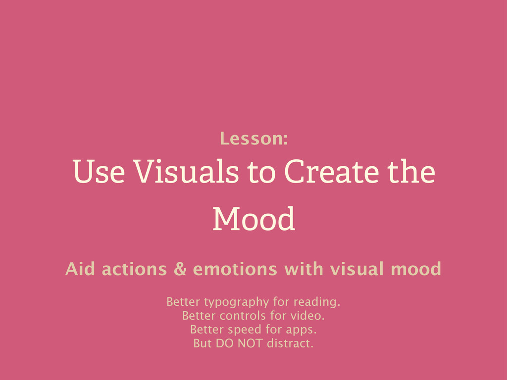 Use Visuals to Create the Mood Lesson: Aid acti...
