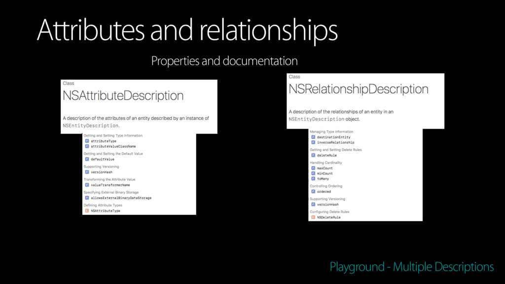 Playground - Multiple Descriptions Attributes a...
