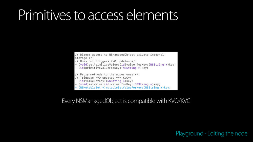 /* Direct access to NSManagedObject private int...