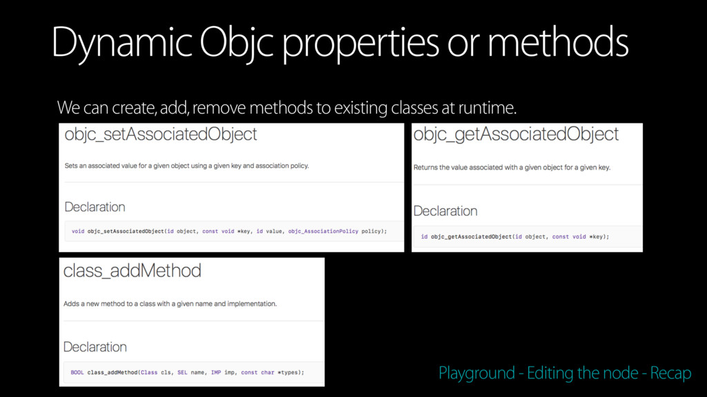 We can create, add, remove methods to existing ...