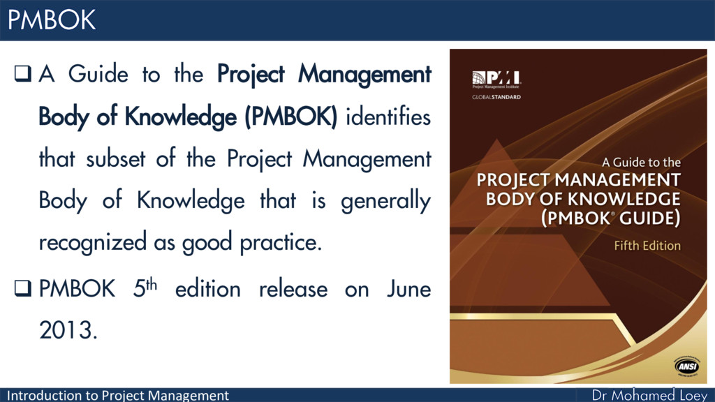 Introduction to Project Management  A Guide to...