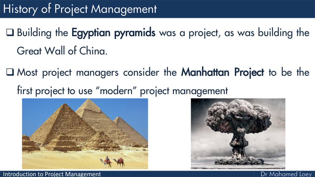 Introduction to Project Management  Building t...
