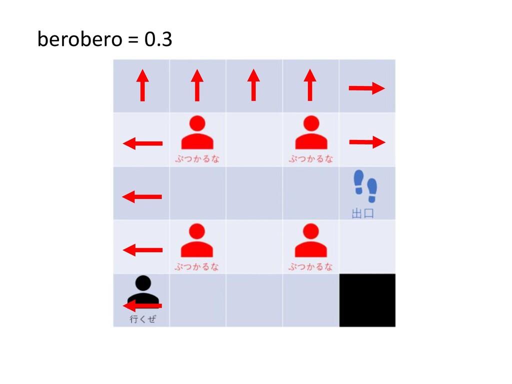 berobero = 0.3