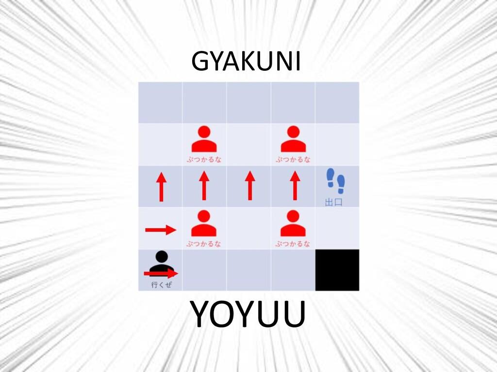 GYAKUNI YOYUU