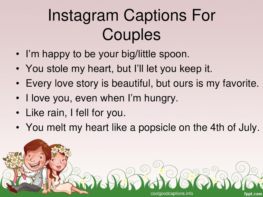 Instagram Captions For Couples • I'm happy to b...