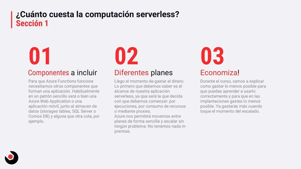 ¿Cuánto cuesta la computación serverless? Secci...