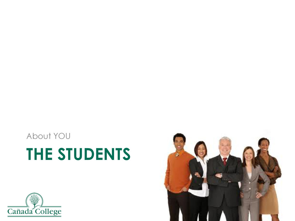 THE STUDENTS About YOU