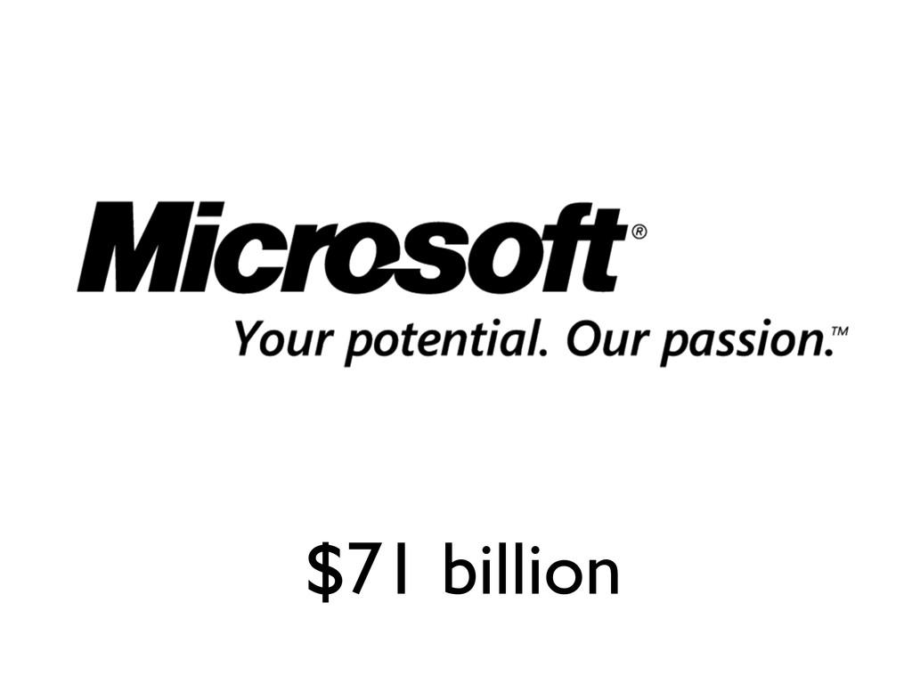 $71 billion