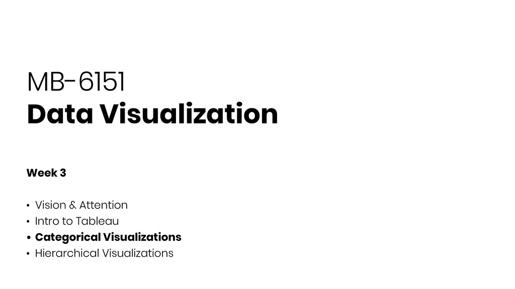 MB-6151 Data Visualization Week 3 • Vision & At...