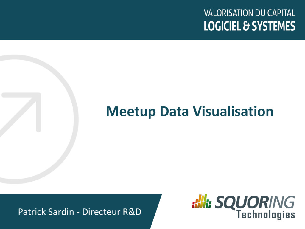 Meetup Data Visualisation Patrick Sardin - Dire...