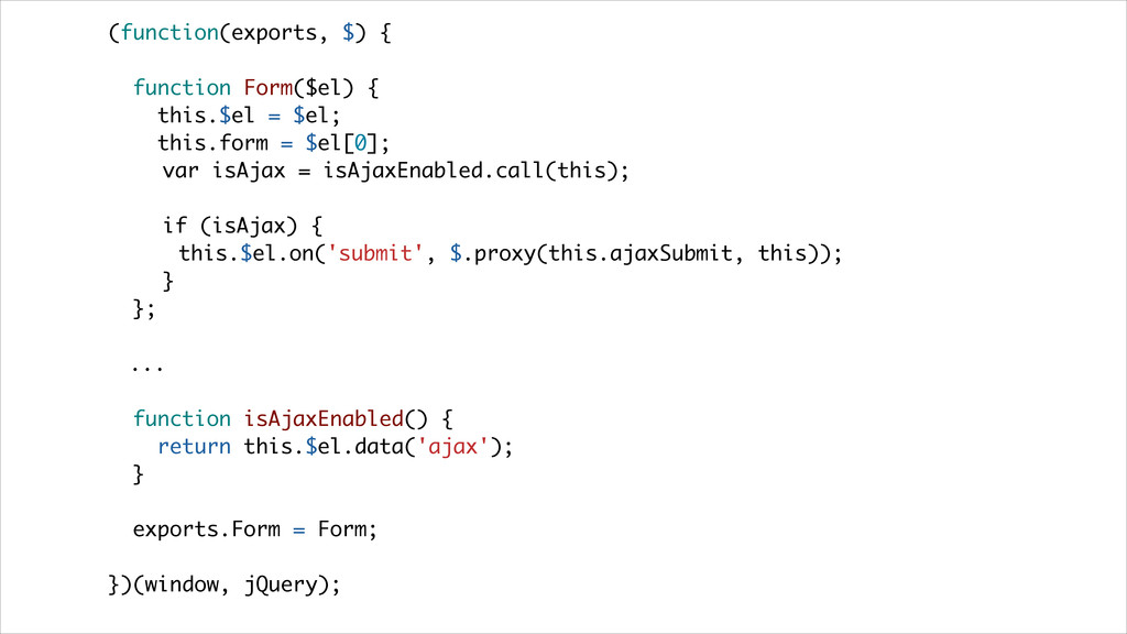 (function(exports, $) { function Form($el) { th...