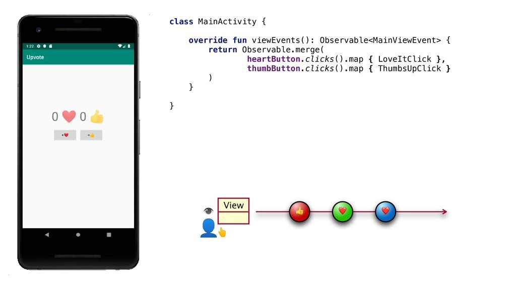 View  ❤ ❤ class MainActivity {_ override fun vi...