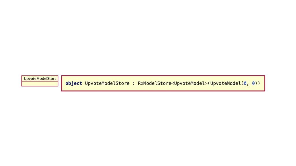 object UpvoteModelStore :_RxModelStore<UpvoteMo...