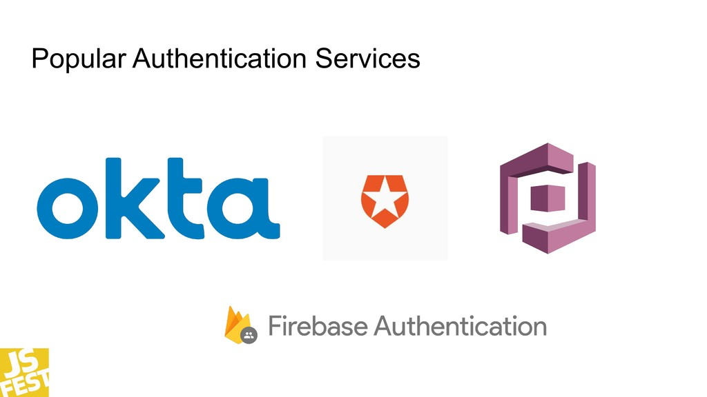 Popular Authentication Services