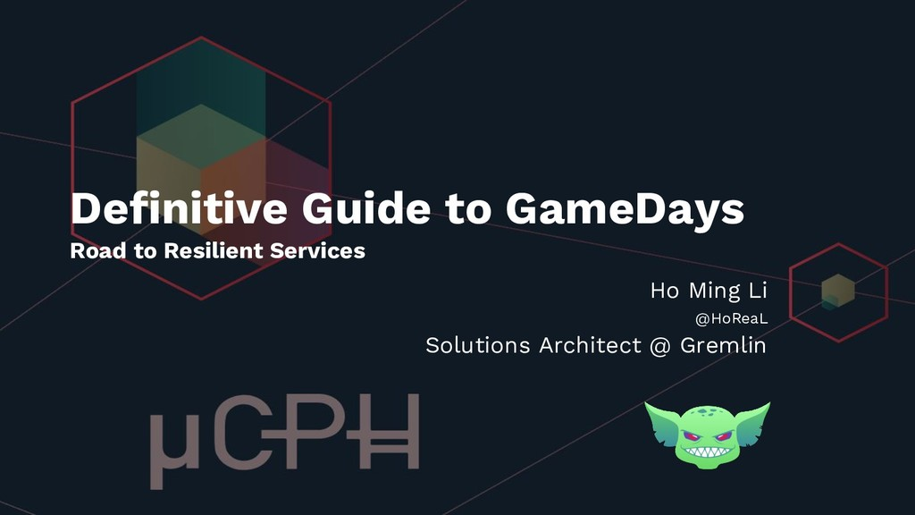 Definitive Guide to GameDays Road to Resilient ...