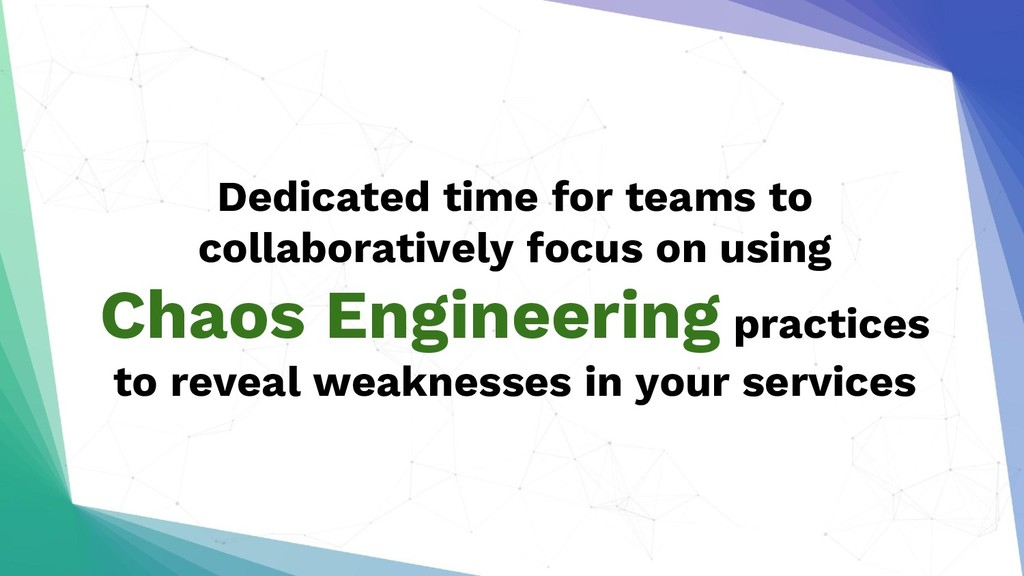 Dedicated time for teams to collaboratively foc...