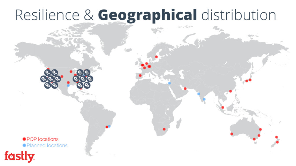 Resilience & Geographical distribution