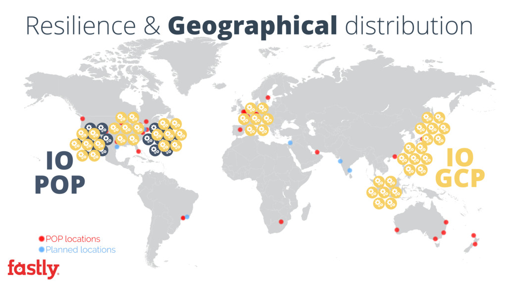 IO GCP IO POP Resilience & Geographical distrib...
