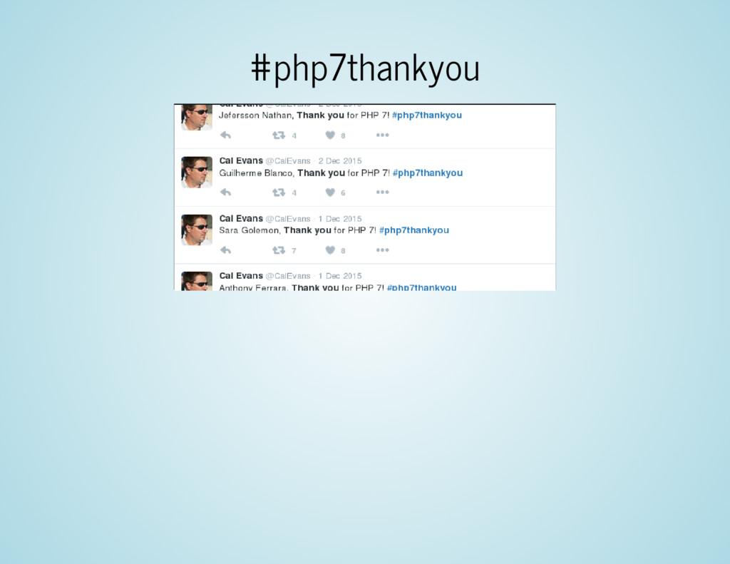 #php7thankyou