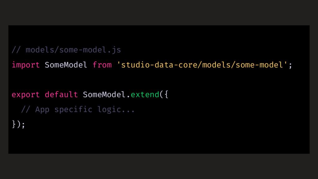 // models/some-model.js import SomeModel from '...