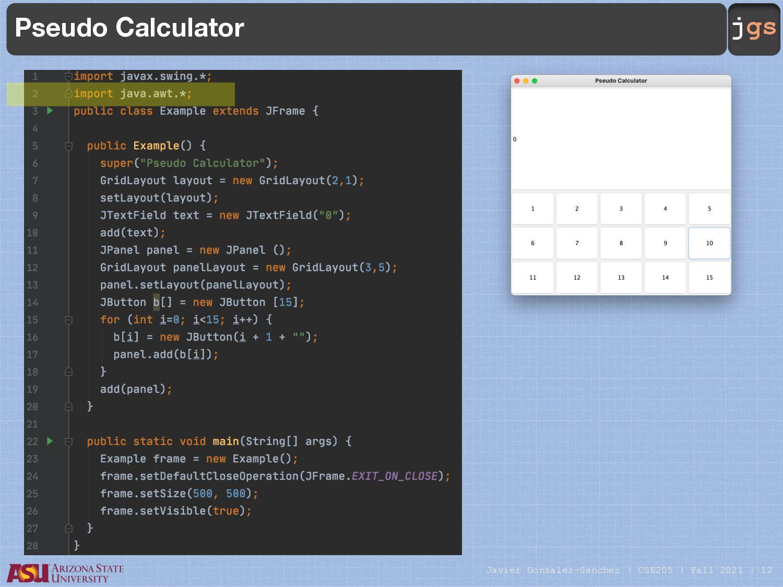 jgs RadioButton