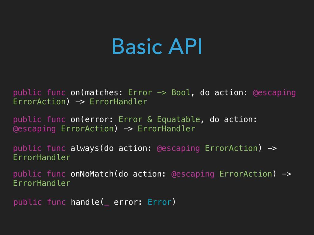 public func on(matches: Error -> Bool, do actio...