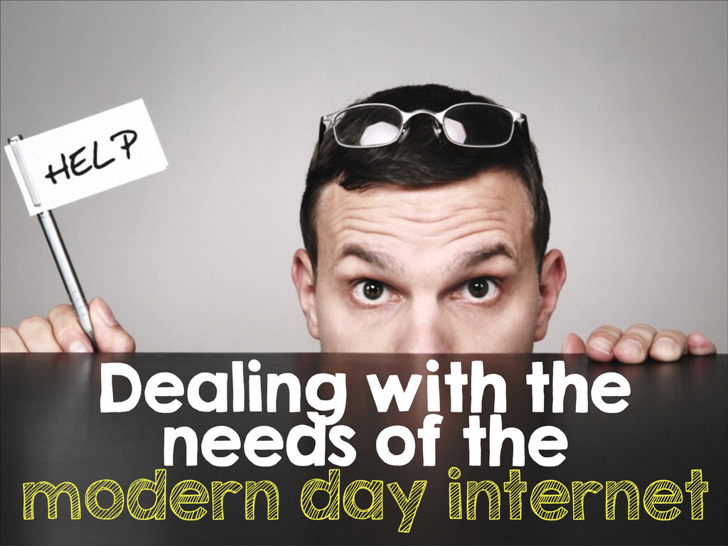 Dealing with the needs of the modern day intern...