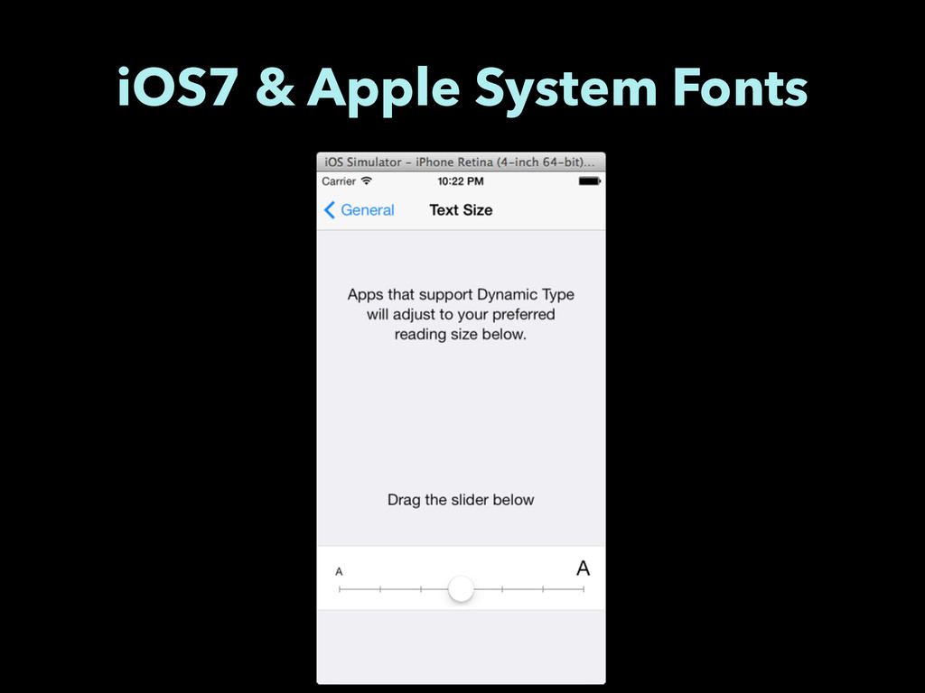 iOS7 & Apple System Fonts