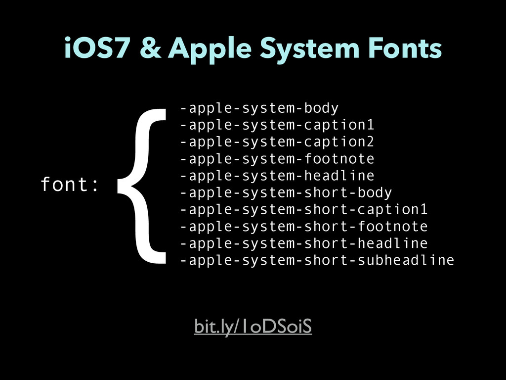 iOS7 & Apple System Fonts -apple-system-body -a...
