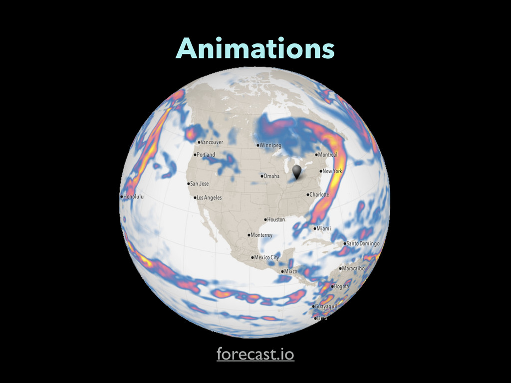 Animations forecast.io
