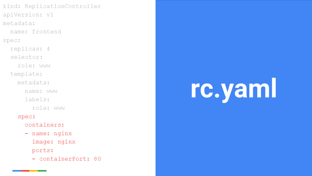 22 Google Cloud Platform rc.yaml kind: Replicat...