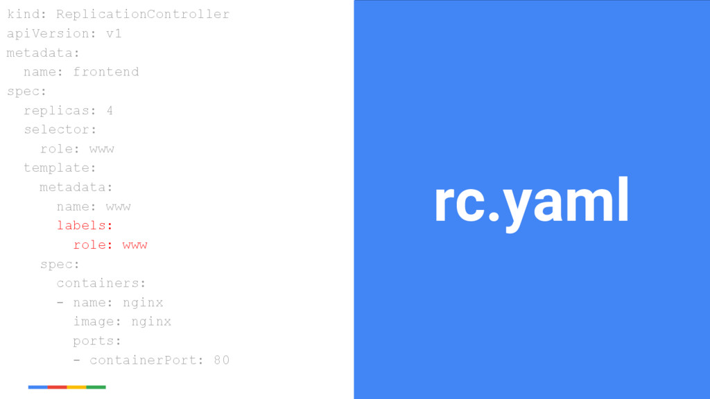 23 Google Cloud Platform rc.yaml kind: Replicat...