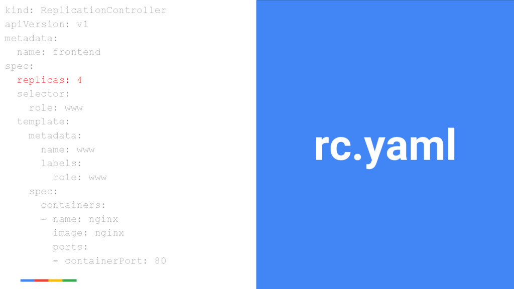 24 Google Cloud Platform rc.yaml kind: Replicat...