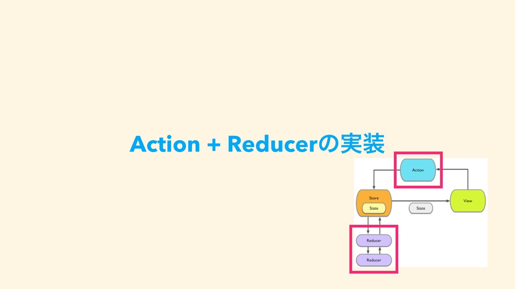 Action + Reducerͷ࣮૷