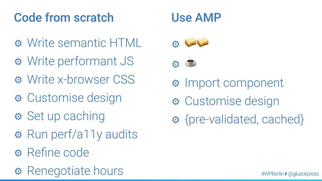 @glueckpress #WPBerlin ⚙︎ Write semantic HTML ⚙...