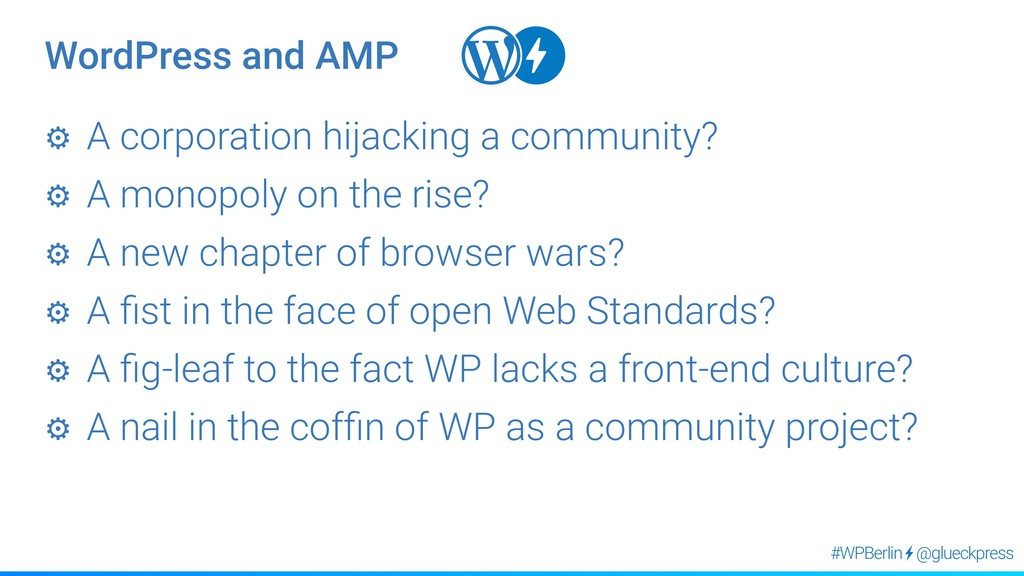 @glueckpress #WPBerlin ⚙︎ A corporation hijacki...