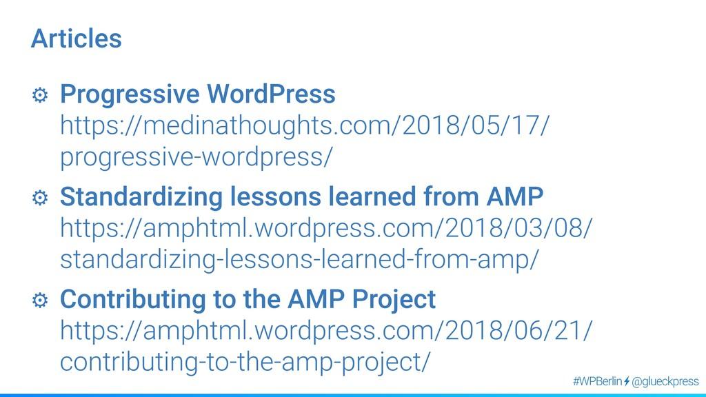 @glueckpress #WPBerlin ⚙︎ Progressive WordPress...