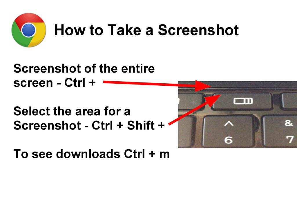 How to Take a Screenshot Screenshot of the enti...